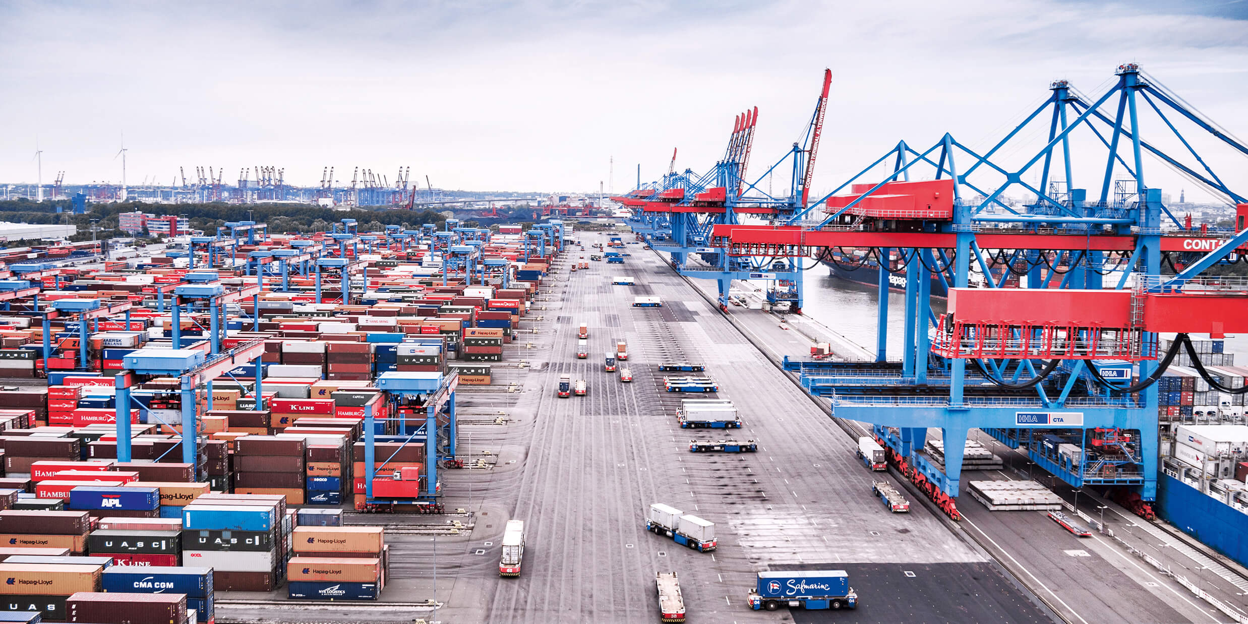 Port of the future - the Container Terminal Altenwerder (CTA