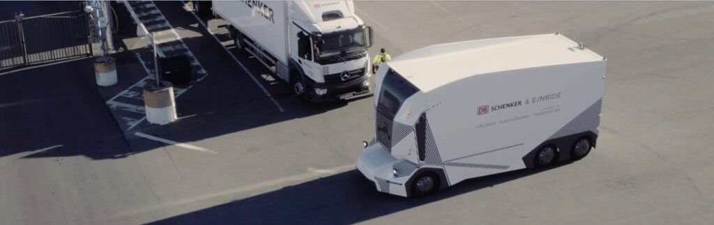 Autonomous electric trucks: DB Schenker and Einride start the T-Pod