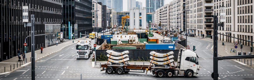 U5 construction in Frankfurt: Heavy logistics in the heart of the city
