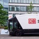 Ein Gast aus Schweden: Der Volta Zero besucht DB Schenker
