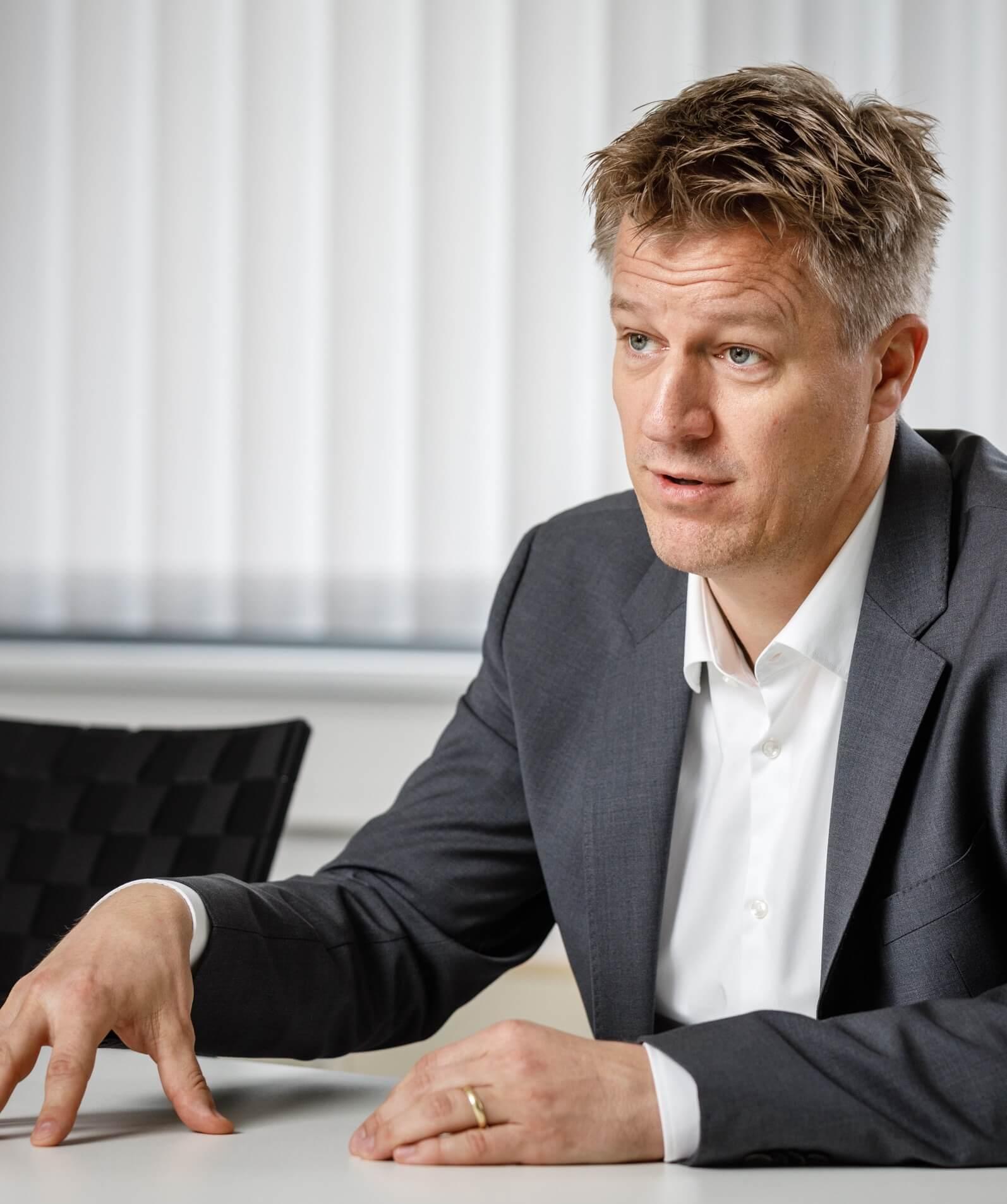 Dr. Niklas Wilmking © DB Schenker/M. Neuhaus