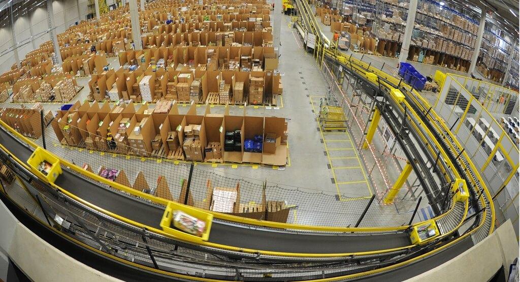 Inbound-Logistik für Amazon: Alles schnell rein ins Lager