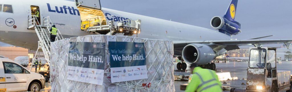 Deutsche Bahn Foundation & DB Schenker: Helping where help is needed