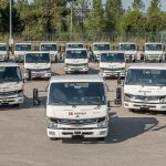 Electric vehicle with the FUSO eCanter: More sustainability in European cities