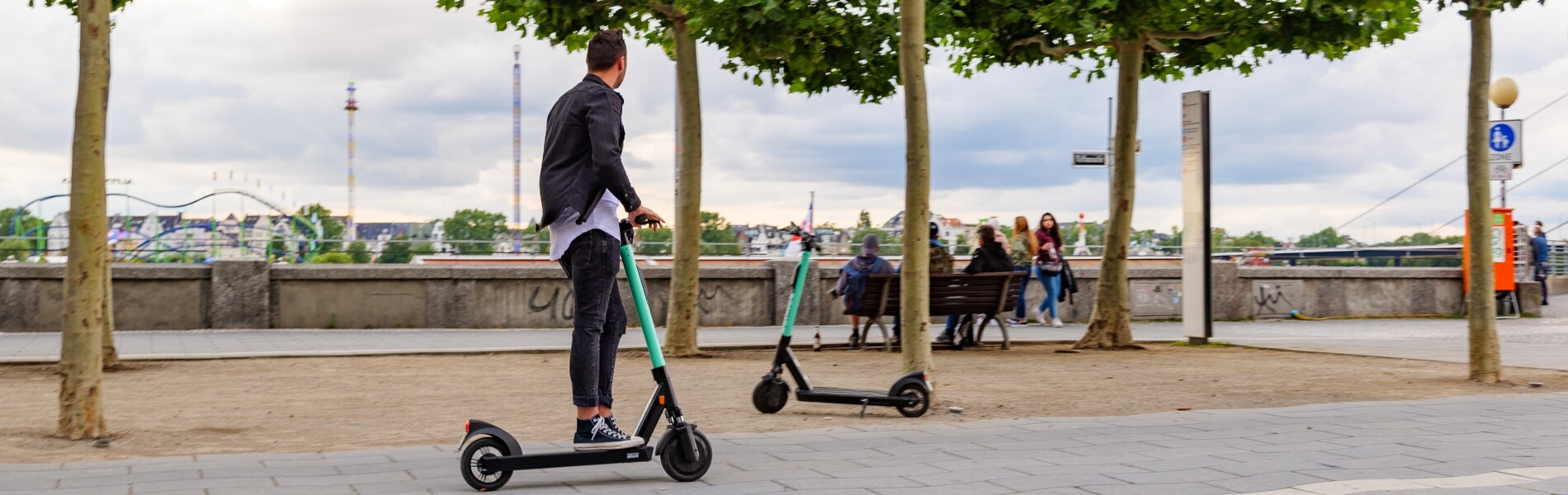 E-scooter mania or efficient two-wheeler for urban last mile