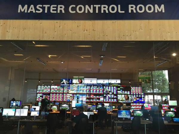 Master Control Room im IBC