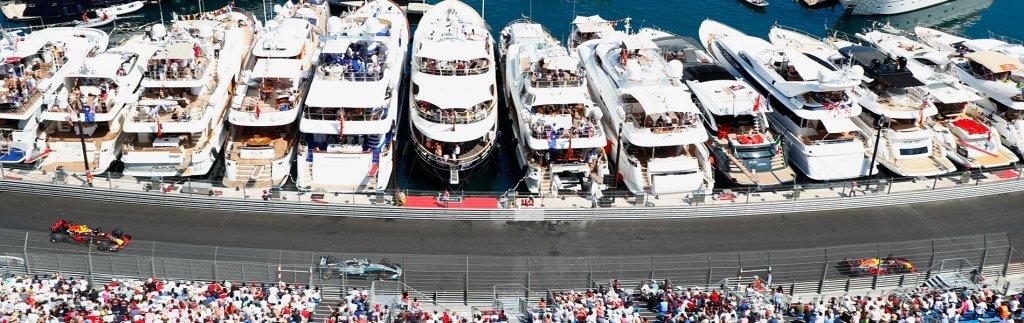 Formel 1 in Monaco – Logistik auf engstem Raum
