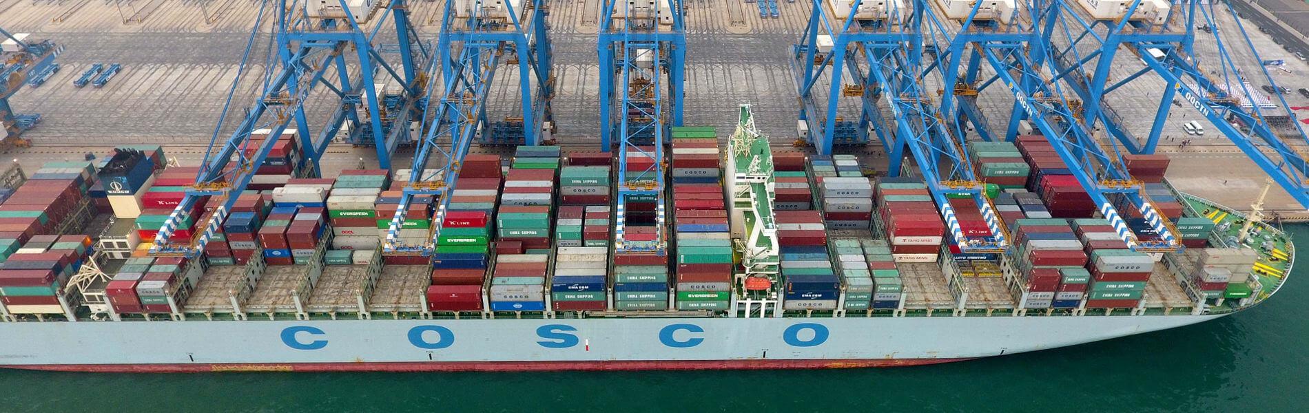 """Der """"Geisterhafen"""" von Qingdao nimmt seine Arbeit auf"""
