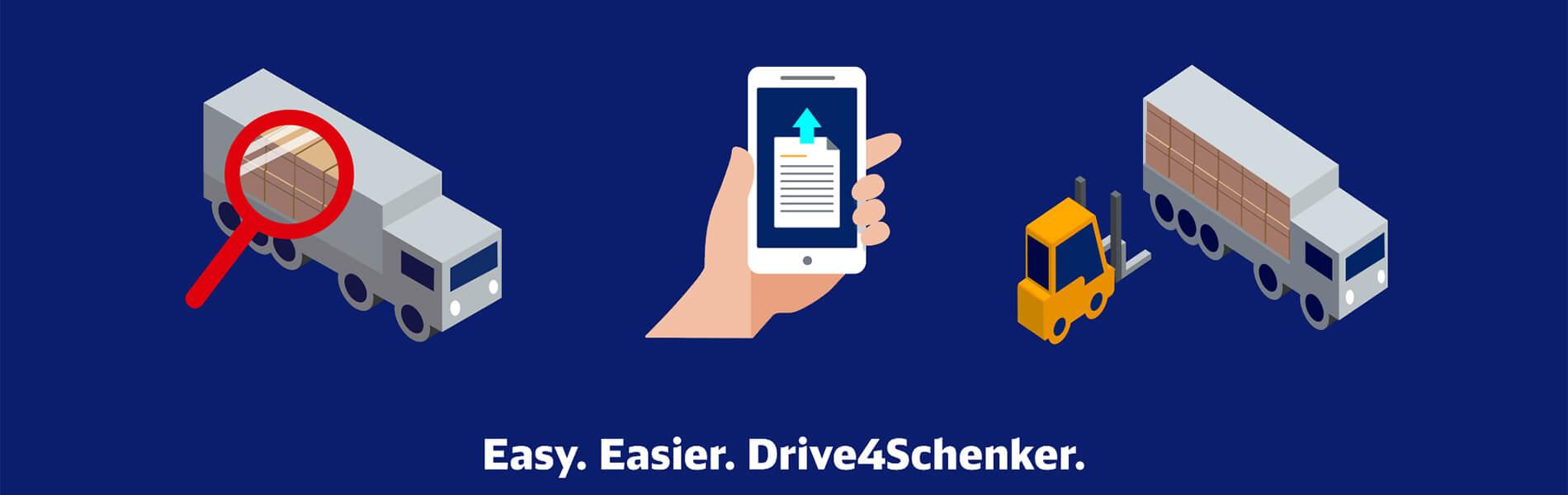 Frachtplattform Drive4Schenker: Warum Carrier, Fahrer & Disponenten profitieren