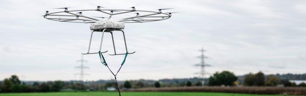 Logistics with cargo drones